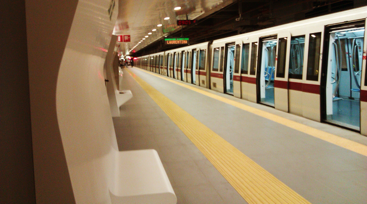 roma metropolitana linea blu salerno - photo#24