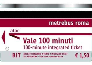 BIT, entegre zaman bileti