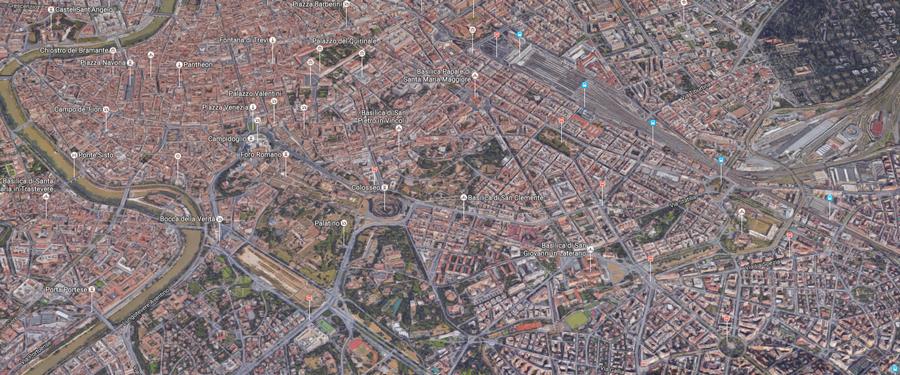 Citta Di Roma Cartina.Metropolitana Di Roma Mappa Della Citta Di Roma Capitale
